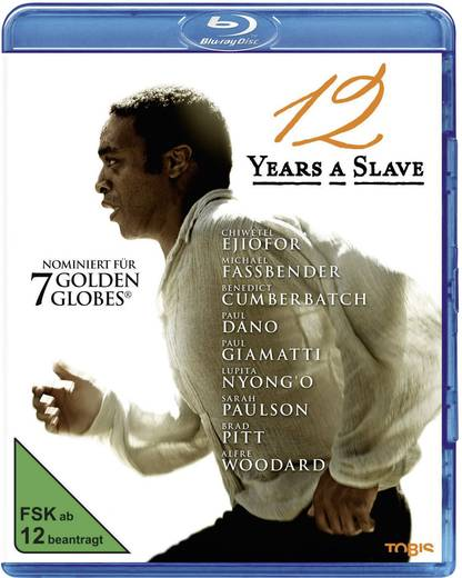 blu-ray 12 Years a Slave FSK: 12