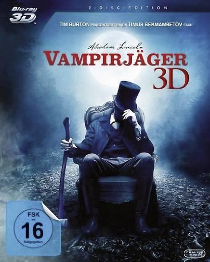 blu-ray 3D Abraham Lincoln - Vampirjäger FSK: 16
