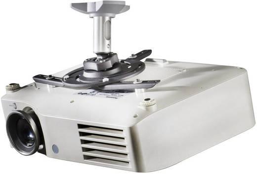 Beamer-Deckenhalterung Neigbar, Drehbar Boden-/Deckenabstand (max.): 11.5 cm VCM Morgenthaler DHP 7 Silber