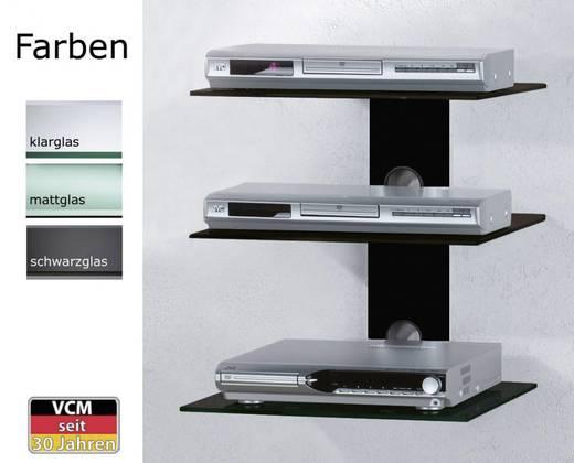 vcm morgenthaler trento 3 tv wand board schwarz transparent glas. Black Bedroom Furniture Sets. Home Design Ideas