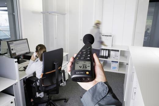 Schallpegel-Messgerät testo 816-1 20 bis 8000 Hz 30 - 130 dB Kalibriert nach Werksstandard (ohne Zertifikat)