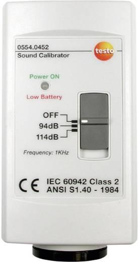 testo 0554 0452 Kalibrator Schalldruckpegel 1x 9 V Block-Batterie (enthalten) Kalibriert nach Werksstandard (ohne Zertif
