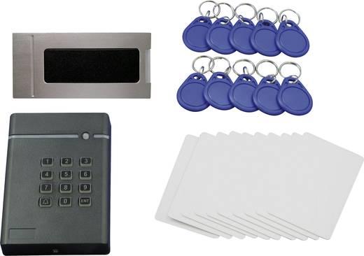 Set Zugangskontrolle QuickCool QW-LF-SET3 Fertiggerät Anzahl Transponder (max.): 1600 12 V/DC