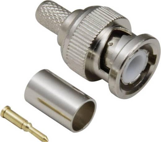 BNC-Steckverbinder Stecker, gerade 50 Ω BKL Electronic 0401251/D 1 St.