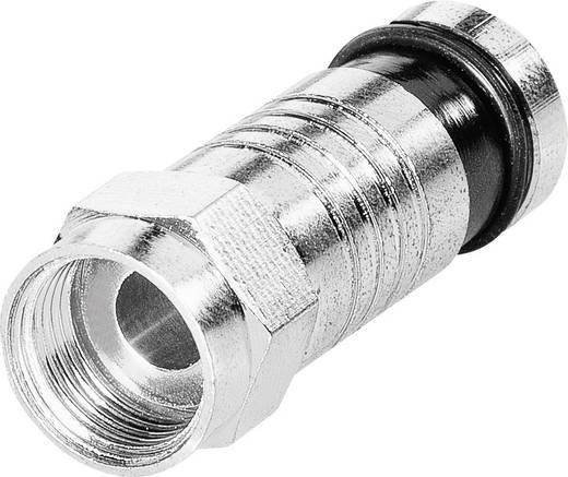 F-Kompressionsstecker Kabel-Durchmesser: 7.4 mm