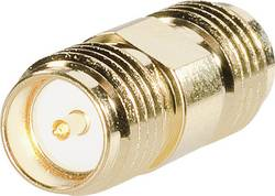 SMA Reverse zásuvka / SMA zásuvka BKL Electronic 0419122, 50 Ω, adaptér rovný