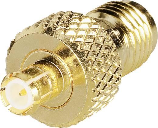 SMA-Reverse-Adapter SMA-Reverse-Buchse - MCX-Stecker BKL Electronic 0419124 1 St.
