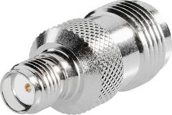 Adaptér TNC Reverse zástrčka / SMA zásuvka BKL Electronic 0419423, 50 Ω, Delrin, rovný