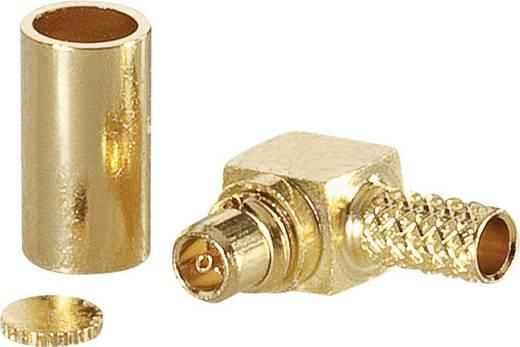 MMCX-Reverse-Steckverbinder Stecker, gewinkelt 50 Ω BKL Electronic 0419302 1 St.