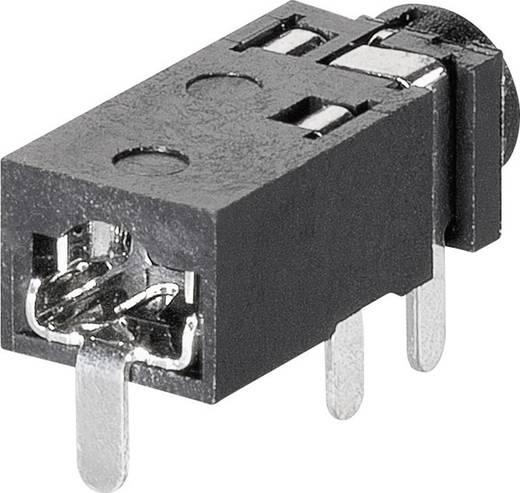 Klinken-Steckverbinder 2.5 mm Buchse, Einbau horizontal Polzahl: 4 Stereo BKL Electronic 1109200 1 St.