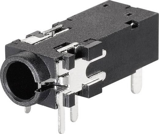 Klinken-Steckverbinder 3.5 mm Buchse, Einbau horizontal Polzahl: 4 Stereo BKL Electronic 1109302 1 St.