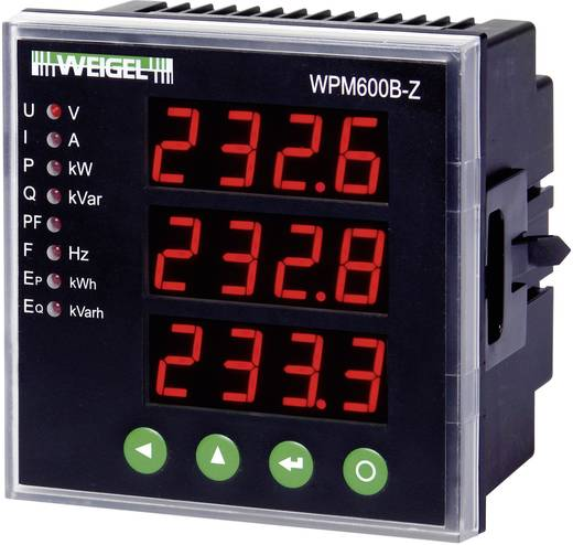 Weigel WPM 600 B-Z Digitales Multifunktionsmessgerät mit LED-Anzeige