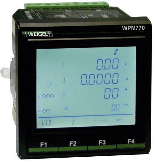Weigel WPM-770 -V6-F1-P1 Netz-Analysegerät, Netzanalysator, 6790012