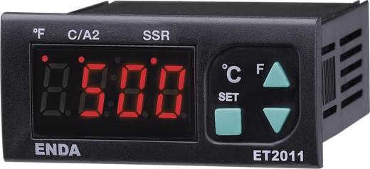 PID Temperaturregler Enda ET2011-T-230 J, K, T, S, R 0 bis +1700 °C Relais 8 A, Relais 16 A, SSR (L x B x H) 71 x 77 x 3