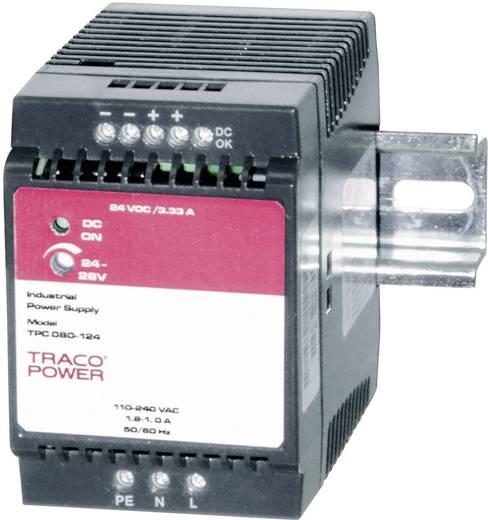 Hutschienen-Netzteil (DIN-Rail) TracoPower TPC 080-124 24 V/DC 3.3 A 80 W 1 x