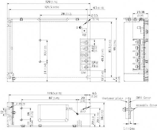AC/DC-Einbaunetzteil TracoPower TXM 075-115 16.5 V/DC 5 A 75 W