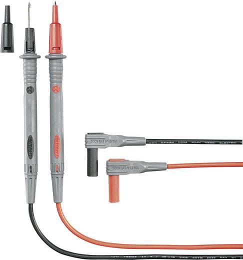 Sicherheits-Messleitungs-Set 1.2 m Schwarz, Rot VOLTCRAFT MS-4N