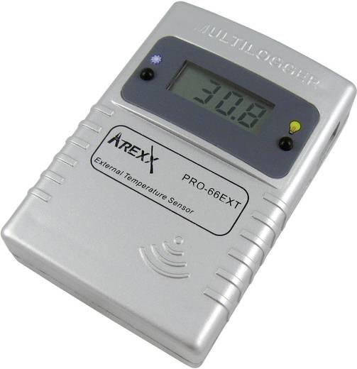Temperatur-Datenlogger Arexx PRO-66ext Messgröße Temperatur -55 bis 125 °C Kalibriert nach Werksstandard (ohne Z