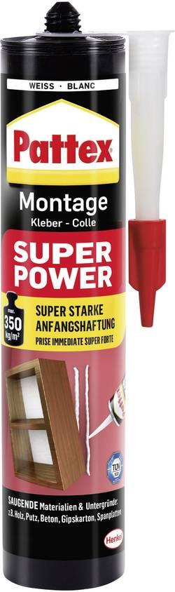 Colle de montage Pattex Super Power PXS37 Couleur blanc 370 g