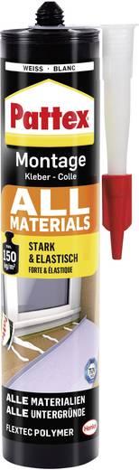 Pattex All Materials Montagekleber Farbe Weiß PXA45 450 g