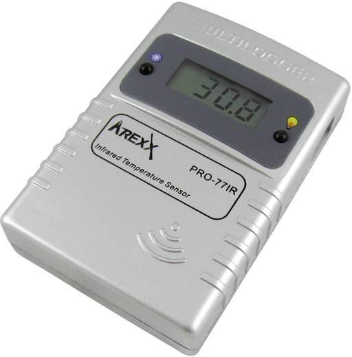 Arexx PRO-77ir Datenlogger-Sensor Messgröße Temperatur -70 bis 380 °C Kalibriert nach Werksstandard (ohne Zertif