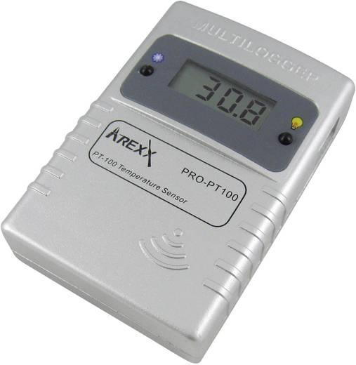 Datenlogger-Sensor Arexx PRO-PT100 Messgröße Temperatur -200 bis 400 °C Kalibriert nach Werksstandard (ohne Zert