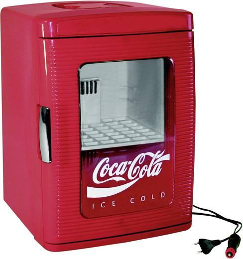 Minikühlschrank/Partykühler Thermoelektrisch Coca-Cola MF25 12/230V 12 V, 230 V Rot 23 l EEK=A+ Ezetil