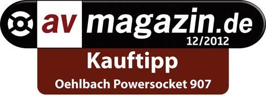 Überspannungsschutz-Steckdosenleiste 8fach Anthrazit Oehlbach 17030