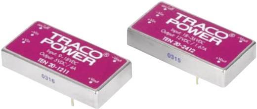 DC/DC-Wandler, Print TracoPower TEN 20-4810WIN 48 V/DC 3.3 V/DC 5.5 A 20 W Anzahl Ausgänge: 1 x