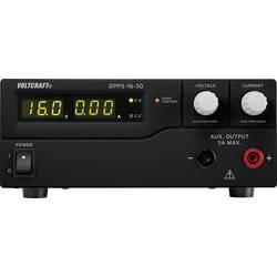 Laboratorní zdroj s nastavitelným napětím VOLTCRAFT DPPS-16-30, 1 - 16 V/DC, 0 - 30 A, 480 W;Kalibrováno dle ISO