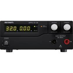 Laboratorní zdroj s nastavitelným napětím VOLTCRAFT DPPS-32-20, 1 - 32 V/DC, 0 - 20 A, 640 W;Kalibrováno dle ISO