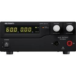 Laboratorní zdroj s nastavitelným napětím VOLTCRAFT DPPS-60-15, 1 - 60 V/DC, 0 - 15 A, 900 W;Kalibrováno dle ISO