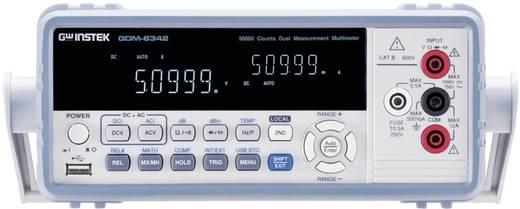 Tisch-Multimeter digital GW Instek GDM-8342GPIB Kalibriert nach: DAkkS CAT II 600 V Anzeige (Counts): 50000