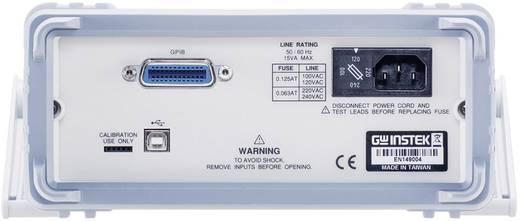 Tisch-Multimeter digital GW Instek GDM-8342USB Kalibriert nach: DAkkS CAT II 600 V Anzeige (Counts): 50000