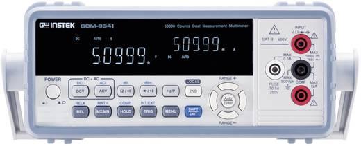 Tisch-Multimeter digital GW Instek GDM-8341 Kalibriert nach: ISO CAT II 600 V Anzeige (Counts): 50000