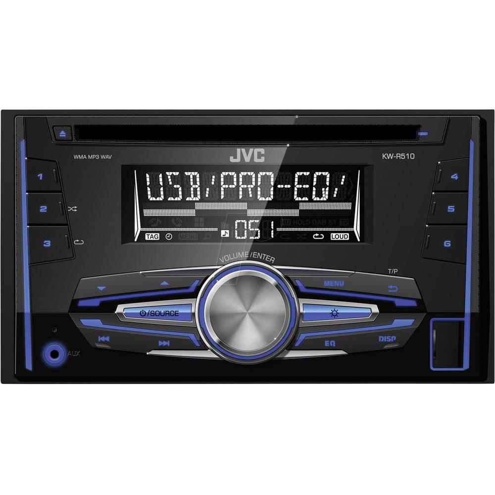 Double DIN Car Stereo JVC KW-R510E From Conrad.com