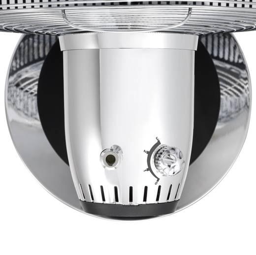 Tischventilator Renkforce 1086612 45 W (Ø x H) 30 cm x 42 cm Chrom