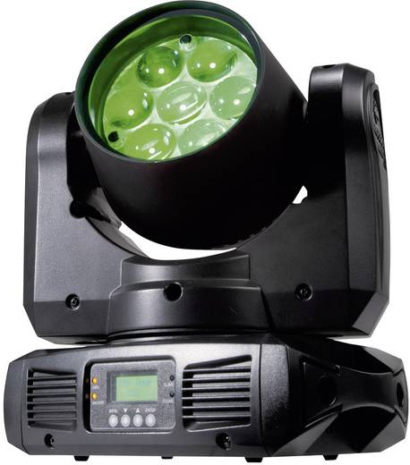 LED-Moving Head ADJ Inno Color Beam Z7 Anzahl LEDs:7 x 10 W