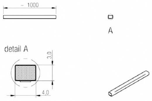 Dichtband Würth Elektronik WE-LT (L x B x H) 1000 x 4 x 3 mm Inhalt: 1 Rolle(n)
