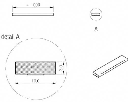 Dichtband Würth Elektronik WE-LT (L x B x H) 1000 x 10 x 3 mm Inhalt: 1 Rolle(n)