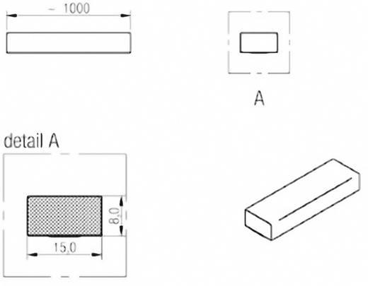 Dichtband WE-LT (L x B x H) 1000 x 15 x 8 mm Würth Elektronik 3021508 1 Rolle(n)