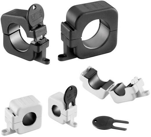 Klappferrit mit Schlüsseltechnologie 130 Ω Kabel-Ø (max.) 16 mm (Ø) 43 mm Würth Elektronik STAR-RING 7427154S 1 St.