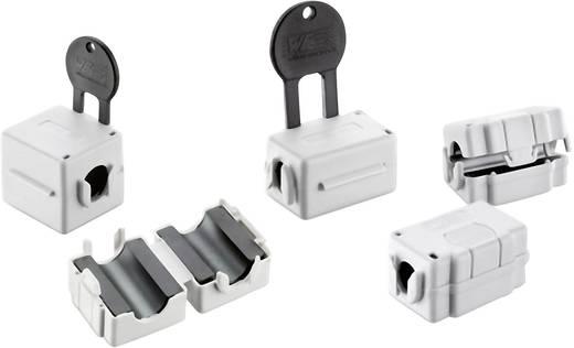 Klappferrit 40 Ω Kabel-Ø (max.) 12.5 mm (L x B x H) 35.1 x 31 x 28 mm Würth Elektronik STAR-FIX 74272722 1 St.