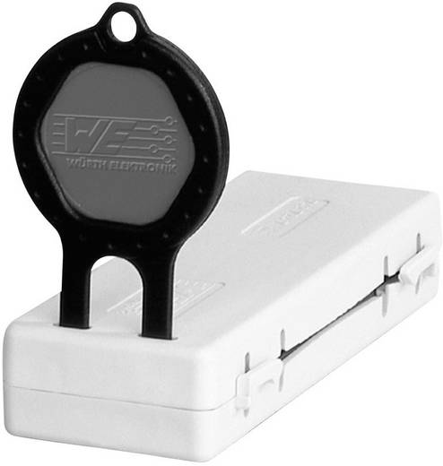Klappferrit mit Schlüsseltechnologie 192 Ω (L x B x H) 84.5 x 33.1 x 16 mm Würth Elektronik STAR-FLAT 7427247 1 St.
