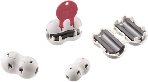 Klappferrit mit Verschlusskontrolle 350 Ω Kabel-Ø (max.) 8.5 mm Würth Elektronik STAR-BUENO 74275815 1 St.