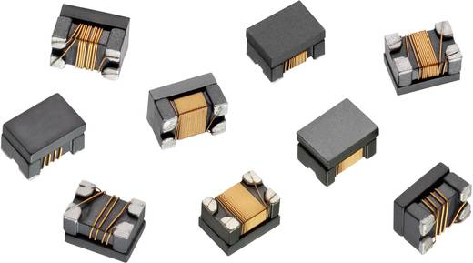 Line-Filter SMD 1812 Rastermaß 1812 mm 11 µH 0.8 Ω 5000 Ω 0.45 A Würth Elektronik WE-CNSW 744235110 1 St.