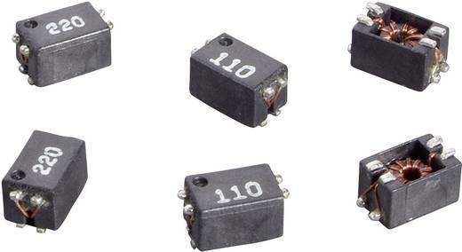 Line-Filter SMD 22 µH 0.23 Ω 1500 Ω 0.3 A Würth Elektronik WE-SLM 744242220 1 St.