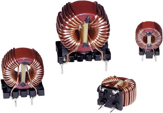 Drossel Ringkern, sektionell radial bedrahtet Rastermaß 10 mm 1000 µH 7 mΩ 10 A Würth Elektronik WE-CMB 744824101 1 St