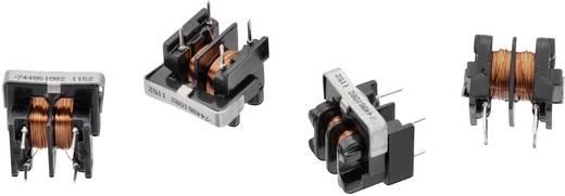 Drossel Ringkern, horizontal radial bedrahtet Rastermaß 8 mm 8200 µH 1300 mΩ 0.5 A Würth Elektronik WE-TFCH 744861082