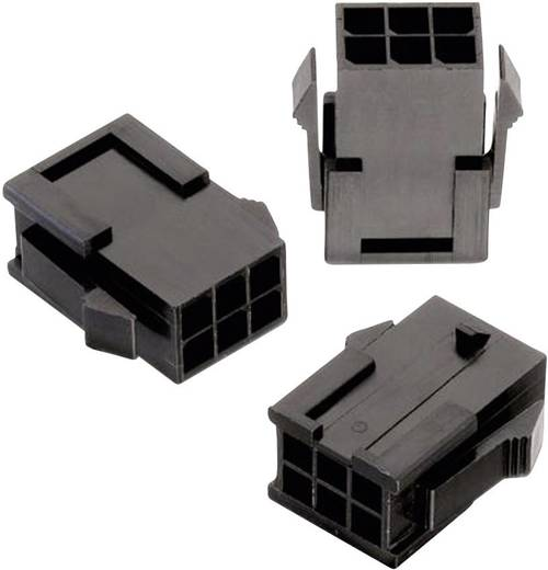 Würth Elektronik 66200621822 Stiftgehäuse-Kabel WR-MPC3 Polzahl Gesamt 6 Rastermaß: 3 mm 1 St.